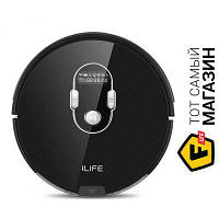 Ilife A7 Black робот-пылесос для поверхностей: ковер, плитка