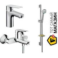 Смеситель для биде Hansgrohe Logis E Набор смесителей для ванны, раковина 70 (71160000+ 71403000+ 27728000) (71161999)