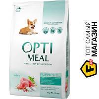 Optimeal Корм со вкусом индейки для всех пород 4 кг