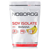 Протеин соевый Nosorog Soy Isolate Protein банан, 1 кг