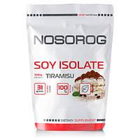 Протеин соевый Nosorog Soy Isolate Protein тирамису, 1 кг