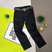 Джинсы брюки штаны черные на мальчика в школу