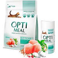 Сухой корм для котят Optimeal Kittens, Вес 4 кг