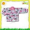 Детская кофточка с начесом для девочки