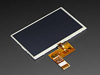 "TFT Display 7"" 800x480 with Touchscreen 40-pin 24bit, фото 1"