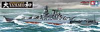 Сборная модель корабля - Линкор Yamato  1/350