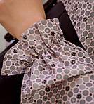 Женское платье батал, костюмка + супер - софт, р-р 48; 50; 52; 54 (чёрный), фото 2