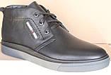 Ботинки зимние мужские кожаные от производителя модель АНЖ123, фото 3