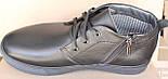 Ботинки зимние мужские кожаные от производителя модель АНЖ123, фото 4