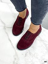 Замшевые туфли на низком каблуке, фото 3