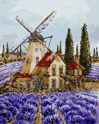 AS0704 Набор для рисования по номерам Где-то в Провансе, В картонной коробке, фото 2