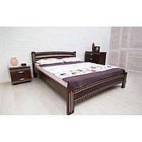 Кровать Милана Люкс с фрезеровкой Олимп