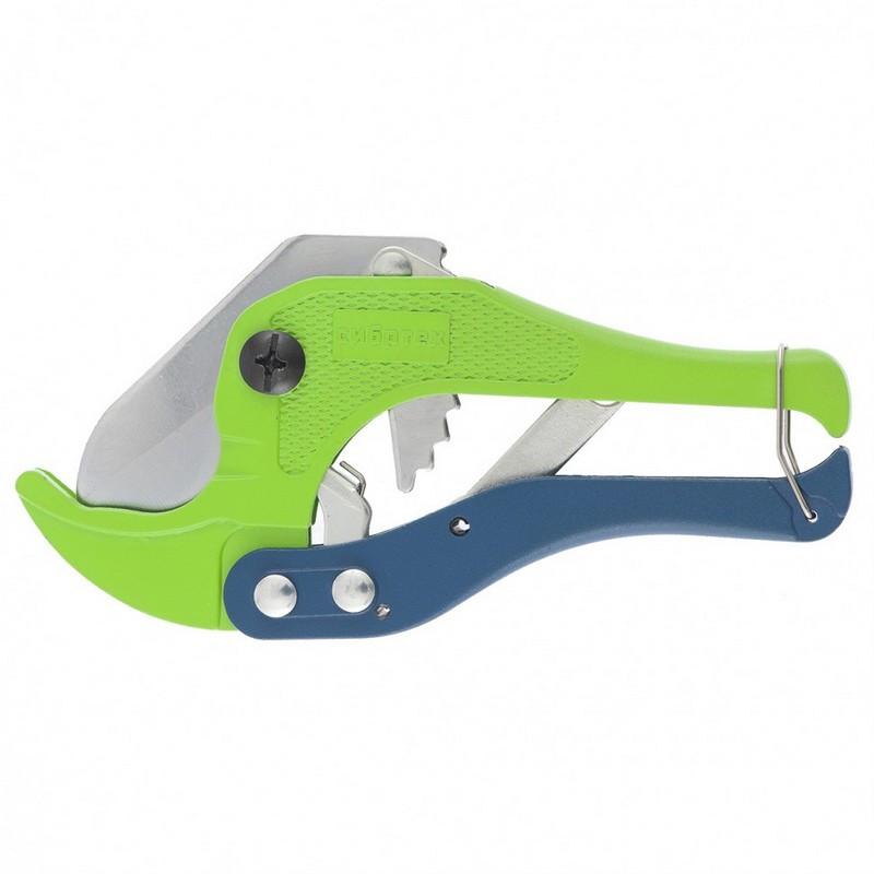 Ножницы для резки труб ПВХ порошковое покрытие D до 42 мм Сибртех 78404