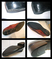 Установка профилактики на подошву обуви