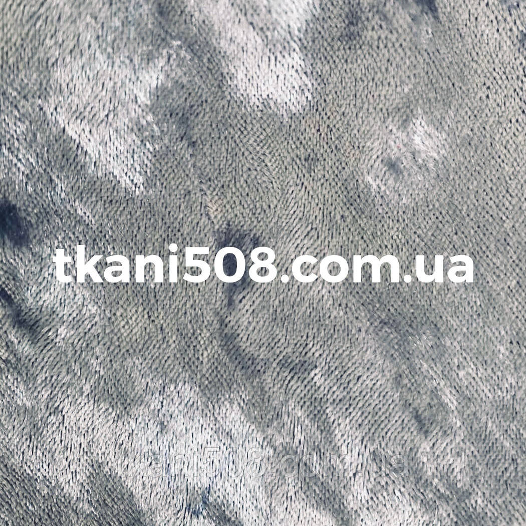 Бархат Мрамор Светло- Серый
