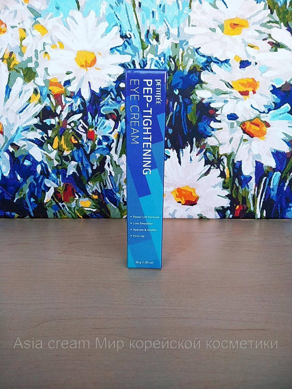 Антивозрастной крем для век на основе пептидов Petitfee PEP-Tightening Eye Cream