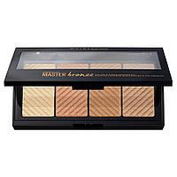Палетка Maybelline Face Studio Master Bronze Color & Highlighting Kit №20 (3600531378684)