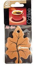Ароматизатор воздуха картонный Paloma Gold COFFE