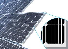 Монокристаллические солнечные батареи (фотомодули, панели)