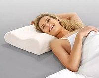 Ортопедическая подушка с эффектом памяти для здорового сна «Memory Pillow» White (WJ12) (12663)