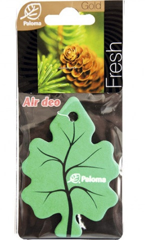 Ароматизатор воздуха картонный Paloma Gold FRESH