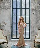 Гетсбі прикраса один в один з оригіналом фероньєра з фіанітами та перлами, фото 2