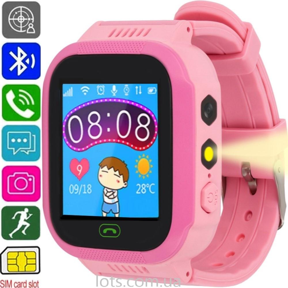 Смарт-часы Детские ATRIX Smart Watch iQ1200 (GPS + SIM) Pink - Умные Часы