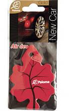 Ароматизатор воздуха картонный Paloma Gold NEW CAR