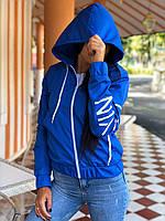 Куртка ветровка с капюшоном в расцветках 43382, фото 1