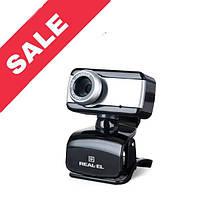 WEB камера REAL-EL FC-130 Black