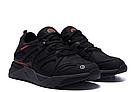 Кроссовки мужские кожаные MERRELL vlbram Black реплика, фото 7