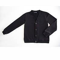Качественный пуловер для мальчика на пуговицах OX4-01, фото 1