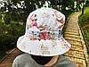 Панама Cayler & Sons белая (панамка кайлер с розами мужская женская), фото 3
