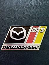 Надпись MAZDA SPEED   70х50 мм
