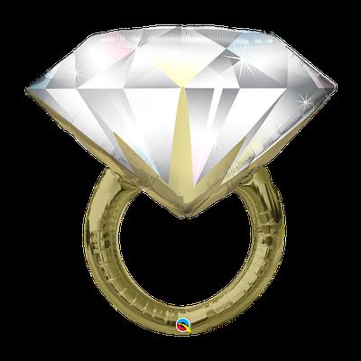 """Q 37"""" Big Rock Ring (Кольцо С Огромным Алмазом), В УП"""