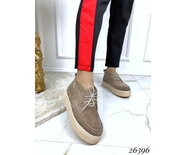 Ботинки хайтопы на шнуровке