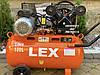 Компрессор воздушный ременной LEX LXAC265-100 3000 Вт 660 л/мин