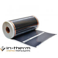 Інфрачервона плівка In-Therm Т-310 220 Вт/м. кв. ширина 1 метр
