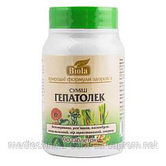 Смесь Гепатолек, 90 таблеток, Biola