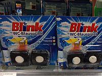 Blink WC-Blauspüler  Blink Арома- и гигиенблок в бачок туалета Синий 2шт  2x30g