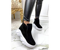 Ботинки кожаные, фото 1