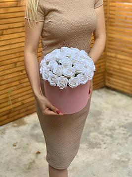 Букет з мила 39 троянд ручна робота