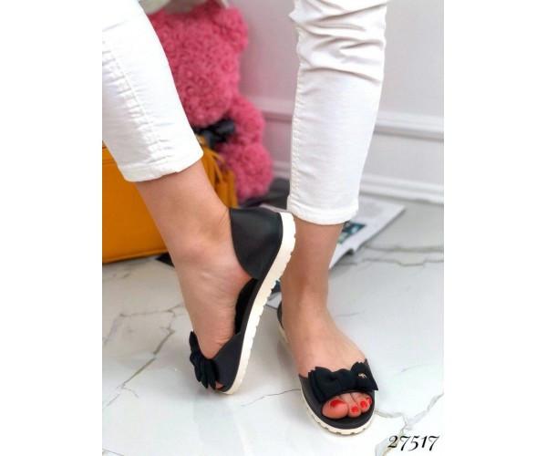 Сандалі силікон з відкритим носком