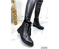 Люксовые ботинки ремешки, фото 1