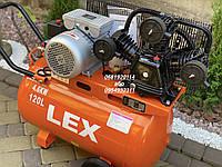 Компрессор воздушный ременной LEX LXAC365-120 4600 Вт 780 л/мин, фото 1