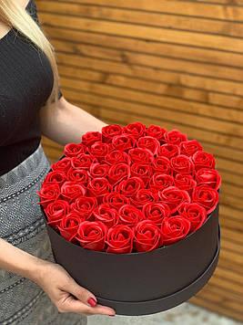 Букет з мила 45 троянд ручна робота