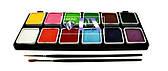 Палитра аквагрим Diamond FX основные 12 цветов по 6 g.