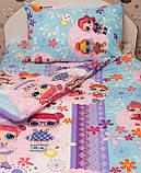 Комплект постельного белья подростковый  полуторный Куклы Лол, фото 2