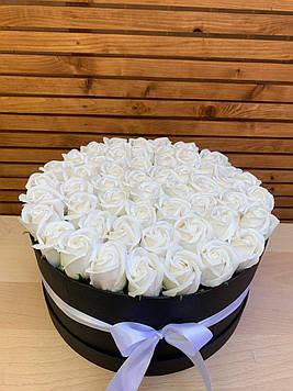 Букет з мила 51 троянда ручна робота