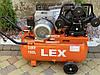 Компрессор воздушный ременной LEX LXAC365-100 3600 Вт 760 л/мин